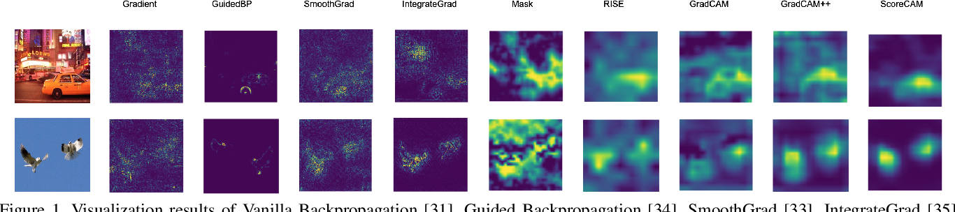 Figure 1 for Score-CAM:Improved Visual Explanations Via Score-Weighted Class Activation Mapping