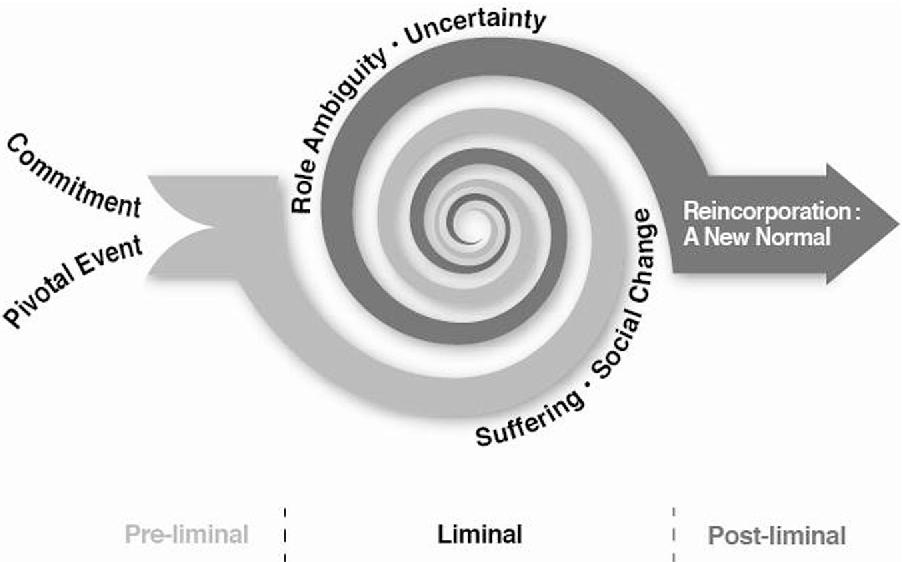 Liminality as a conceptual frame for understanding the family ...
