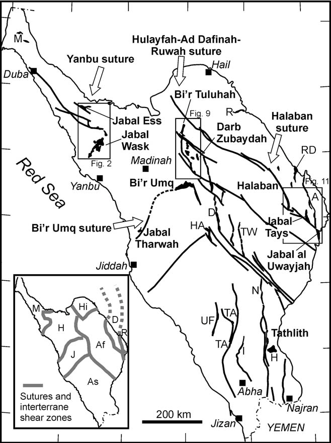 Neoproterozoic Ophiolites In The Arabian Shield Field Relations