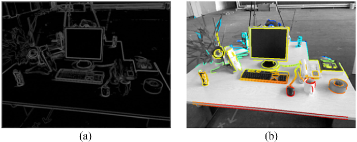 Figure 1 for Canny-VO: Visual Odometry with RGB-D Cameras based on Geometric 3D-2D Edge Alignment