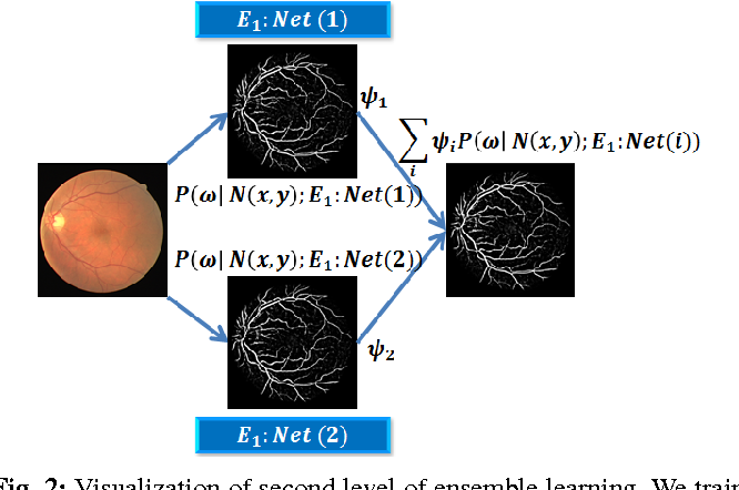 Figure 2 for Deep Neural Ensemble for Retinal Vessel Segmentation in Fundus Images towards Achieving Label-free Angiography