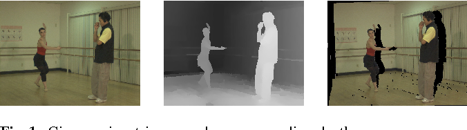 Figure 1 for Image Completion for View Synthesis Using Markov Random Fields and Efficient Belief Propagation