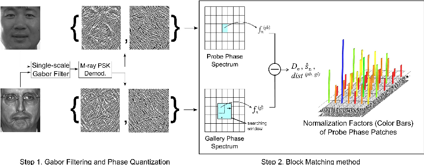 Figure 1 for Leveraging the Power of Gabor Phase for Face Identification: A Block Matching Approach