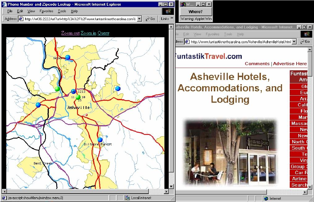 Figure 2 from Geospatial mapping and navigation of the web