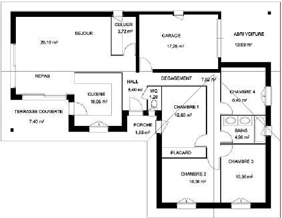 A system to detect rooms in architectural floor plan images ...