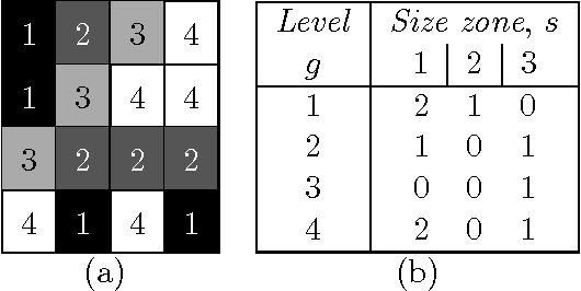 Figure 5: SZM filling example for a 4 gray levels image texture of size 4 × 4 and using 8-connexity.