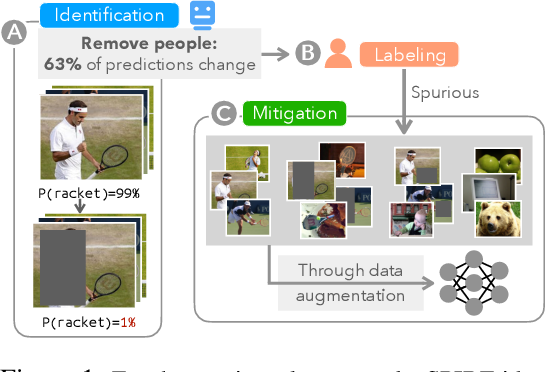 Figure 1 for Finding and Fixing Spurious Patterns with Explanations