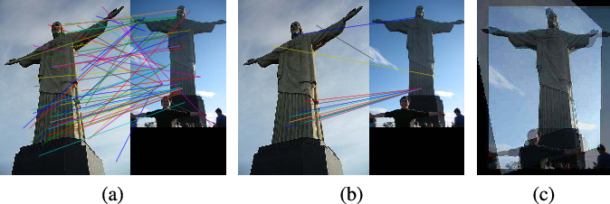 Figure 3 for Robust Alignment for Panoramic Stitching via an Exact Rank Constraint