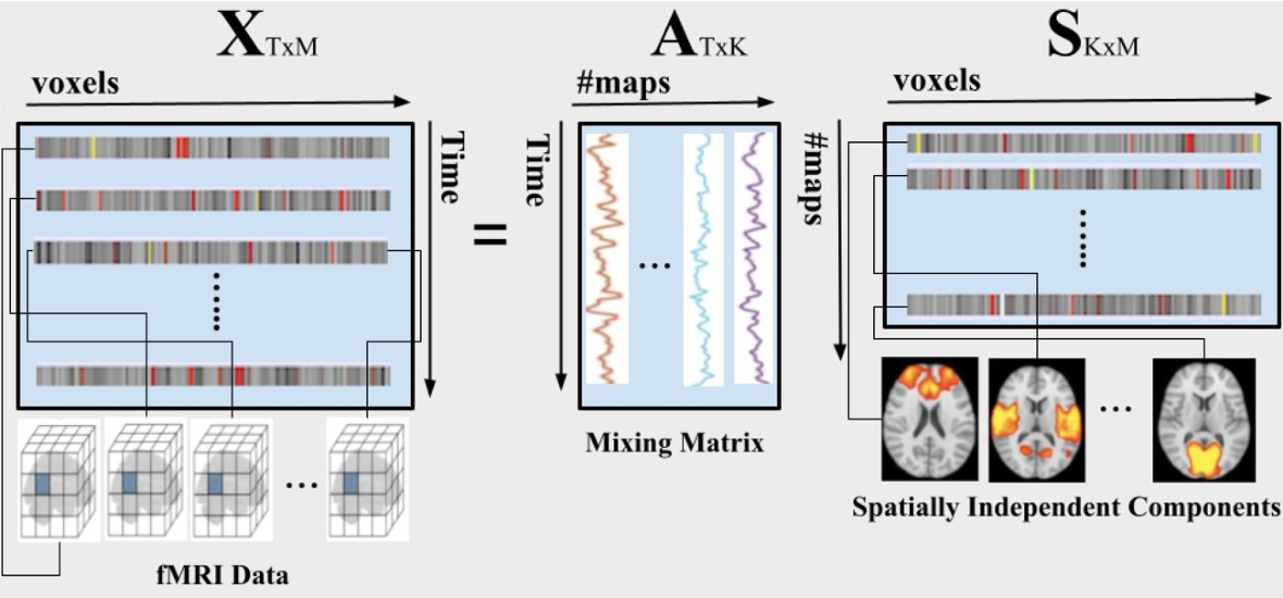 Figure 2 for Deriving Autism Spectrum Disorder Functional Networks from RS-FMRI Data using Group ICA and Dictionary Learning