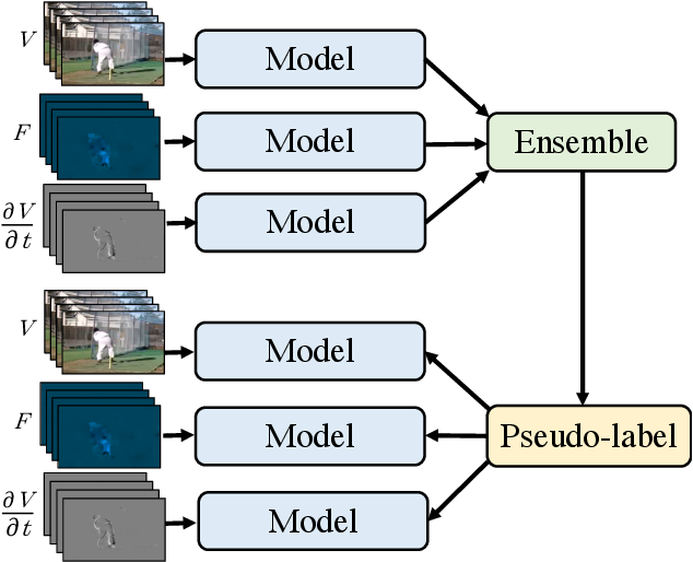 Figure 1 for Multiview Pseudo-Labeling for Semi-supervised Learning from Video