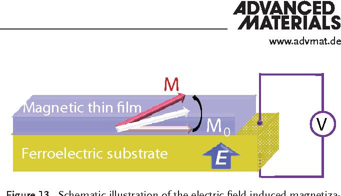 Figure 13 from Recent progress in multiferroic magnetoelectric