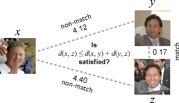Figure 1 for Good Recognition is Non-Metric