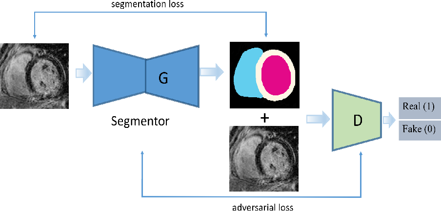 Figure 1 for Adversarial Convolutional Networks with Weak Domain-Transfer for Multi-Sequence Cardiac MR Images Segmentation