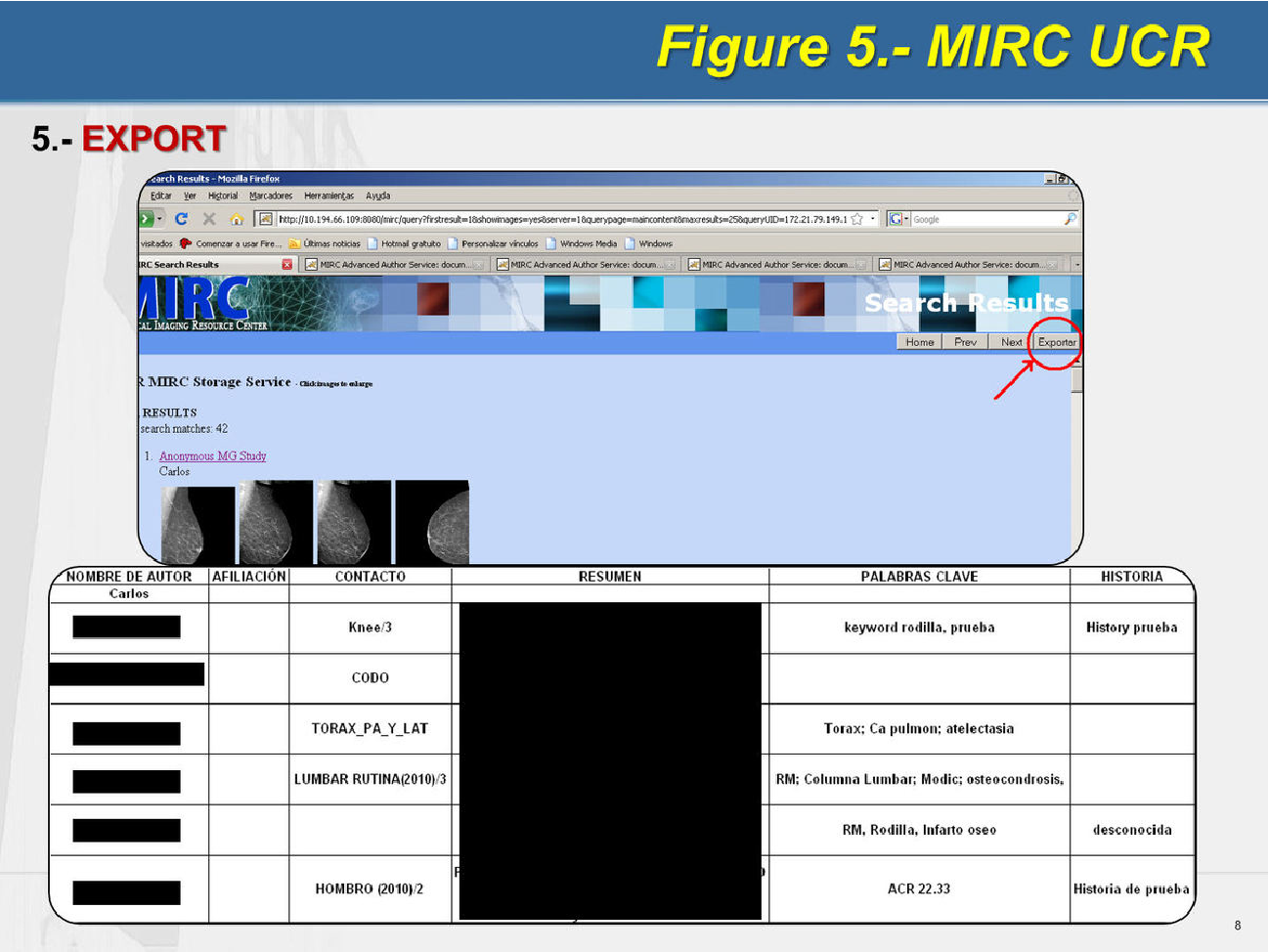 Figure 5 from MIRC-chat for radiographers  Creating an educational