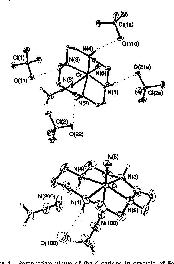 Figure 4 From Molecular And Electronic Structure Of Nitridochromium