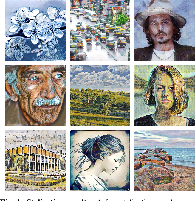 Figure 1 for SAFIN: Arbitrary Style Transfer With Self-Attentive Factorized Instance Normalization