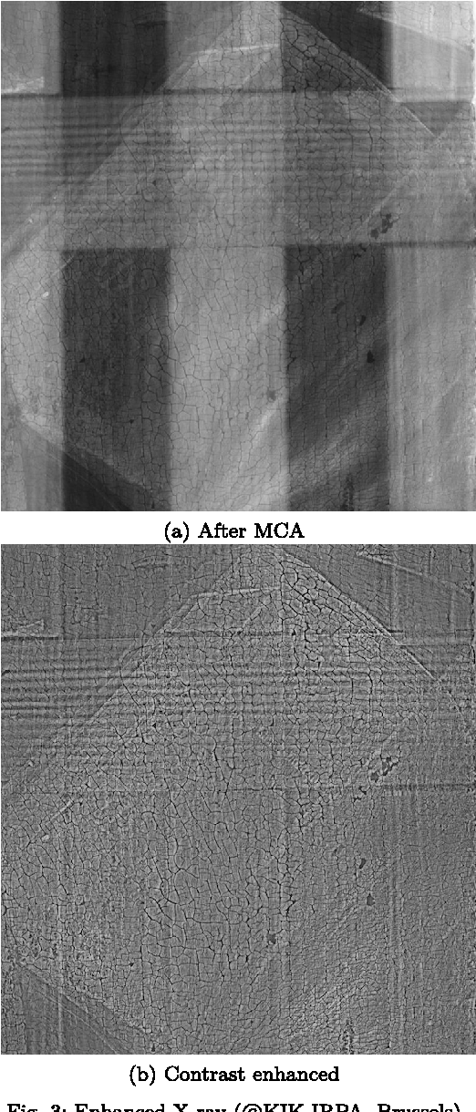 Figure 3 for Bayesian crack detection in ultra high resolution multimodal images of paintings