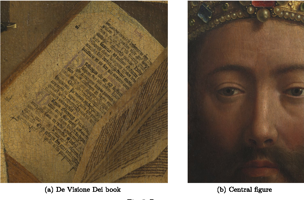 Figure 4 for Bayesian crack detection in ultra high resolution multimodal images of paintings