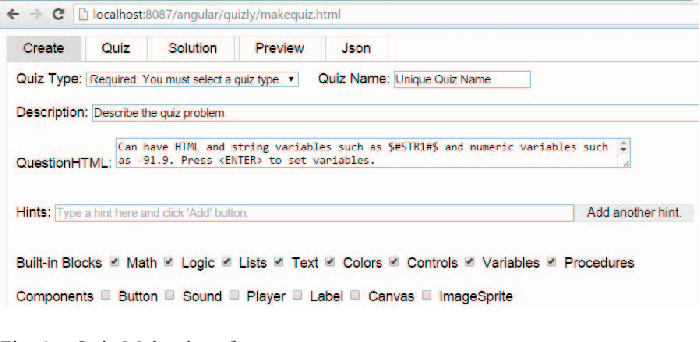 Figure 1 from Quizly: A live coding assessment platform for