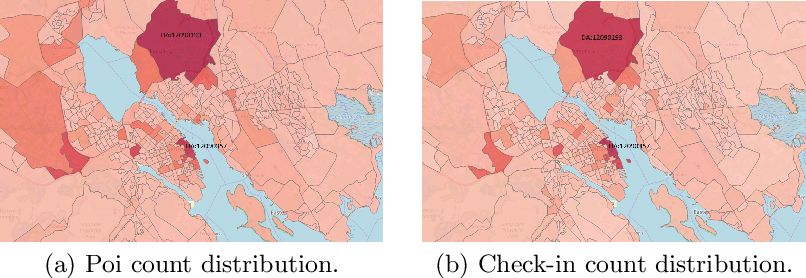 Figure 3 for Analyzing the Impact of Foursquare and Streetlight Data with Human Demographics on Future Crime Prediction