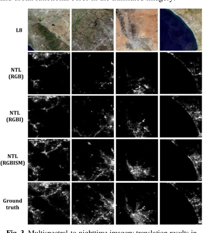 Figure 4 for Translating multispectral imagery to nighttime imagery via conditional generative adversarial networks