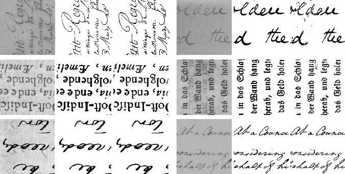 Figure 4 for Improving Document Binarization via Adversarial Noise-Texture Augmentation