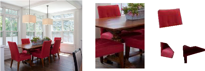 Figure 2 for SeeThrough: Finding Chairs in Heavily Occluded Indoor Scene Images
