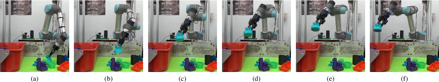Figure 4 for GOMP: Grasp-Optimized Motion Planning for Bin Picking