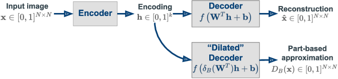 Figure 3 for Part-based approximations for morphological operators using asymmetric auto-encoders