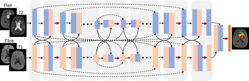 Figure 1 for Modality-Pairing Learning for Brain Tumor Segmentation