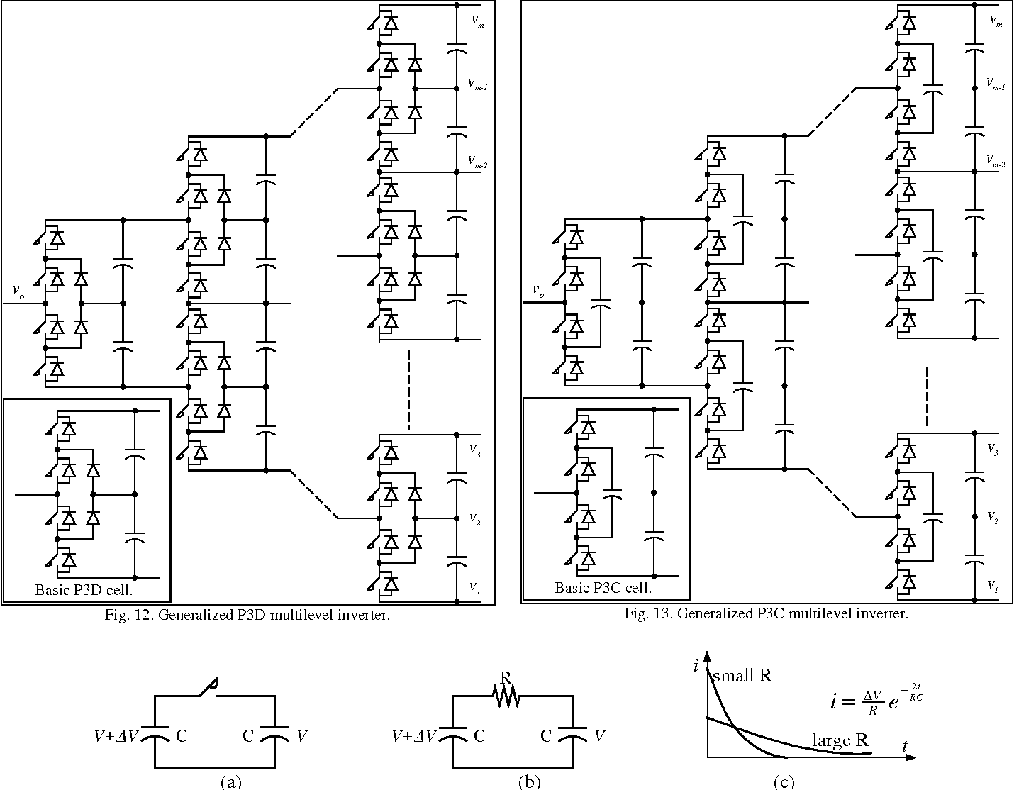 A generalized multilevel inverter topology with self voltage