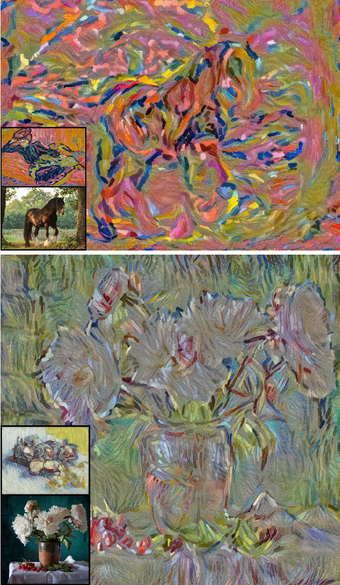 Figure 1 for Rethinking Style Transfer: From Pixels to Parameterized Brushstrokes