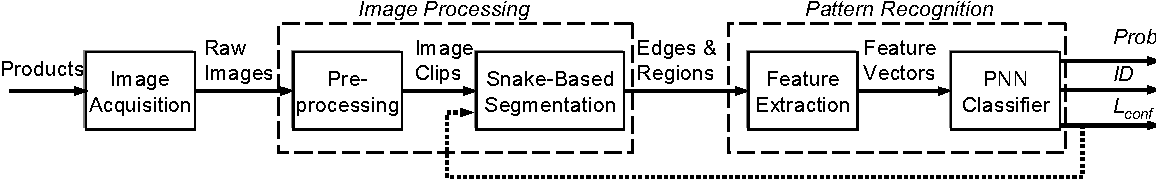 Figure 3. A general methodology for real-time vision-based inspection.