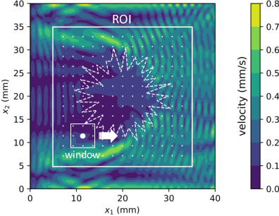 Figure 3 for Plane Wave Elastography: A Frequency-Domain Ultrasound Shear Wave Elastography Approach