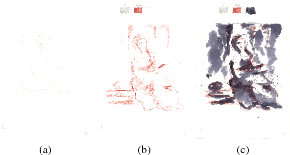Figure 4 for Hyper-Hue and EMAP on Hyperspectral Images for Supervised Layer Decomposition of Old Master Drawings
