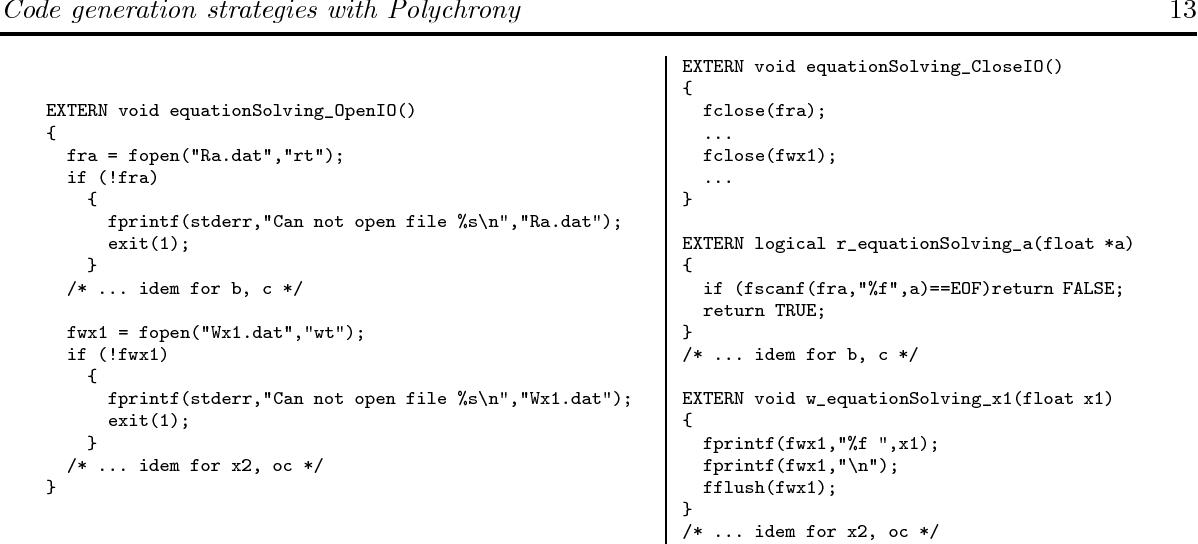 PDF] Code generation strategies in the Polychrony