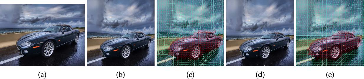 Figure 4 for Image retargeting via Beltrami representation