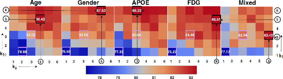 Figure 3 for InceptionGCN: Receptive Field Aware Graph Convolutional Network for Disease Prediction