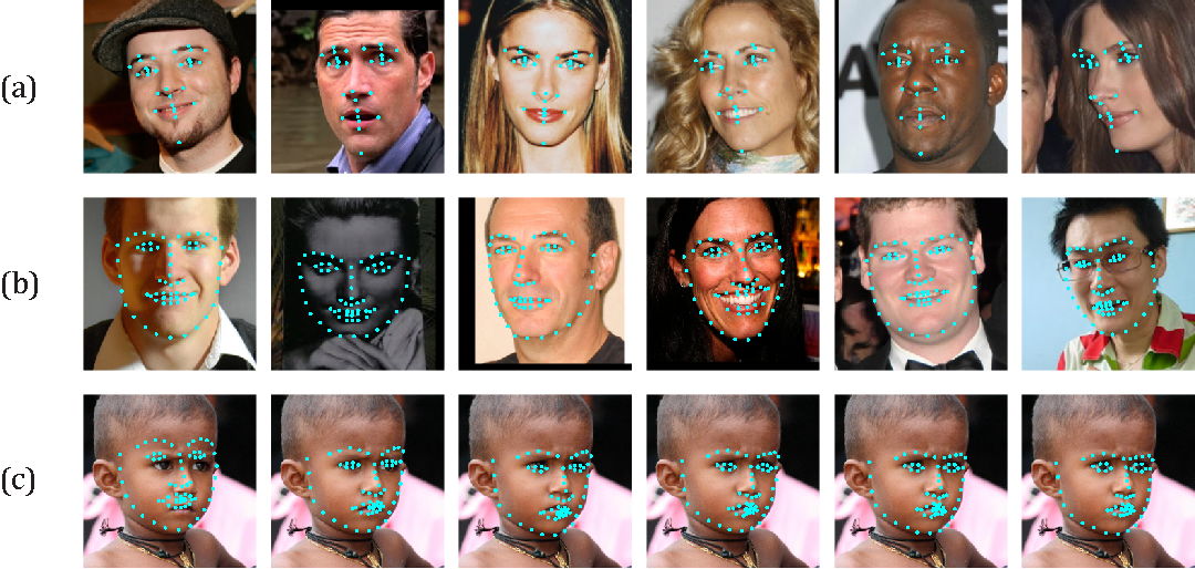 Figure 4 for Deep Regression for Face Alignment