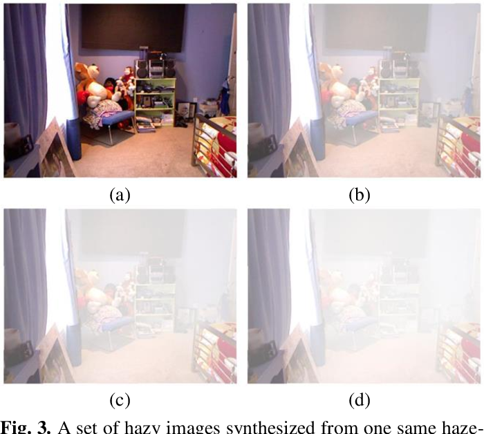 Figure 4 for Fully Non-Homogeneous Atmospheric Scattering Modeling with Convolutional Neural Networks for Single Image Dehazing