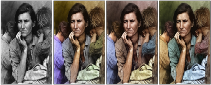 Figure 2 for Video Colorization using CNNs and Keyframes extraction: An application in saving bandwidth