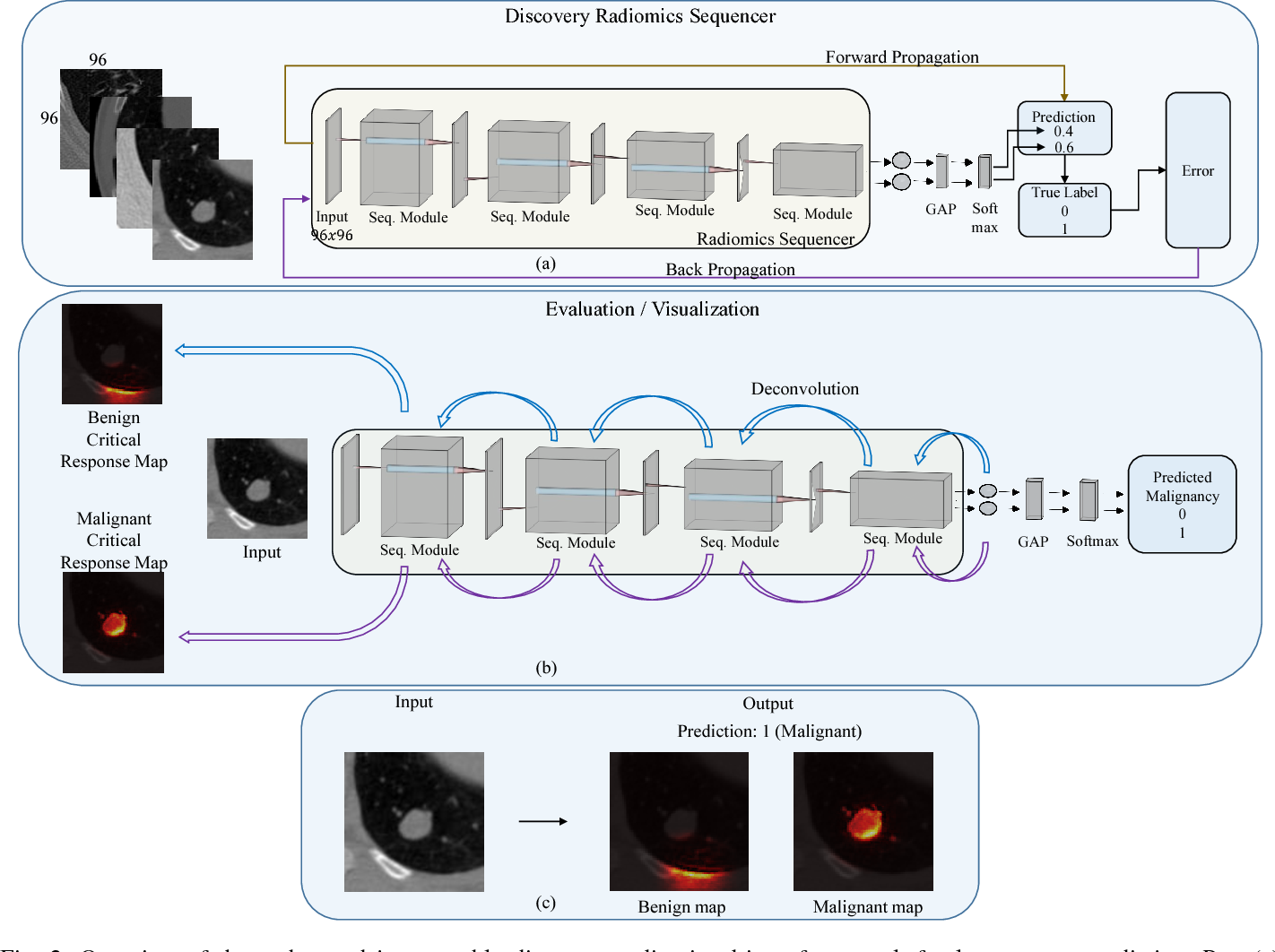 Figure 3 for SISC: End-to-end Interpretable Discovery Radiomics-Driven Lung Cancer Prediction via Stacked Interpretable Sequencing Cells