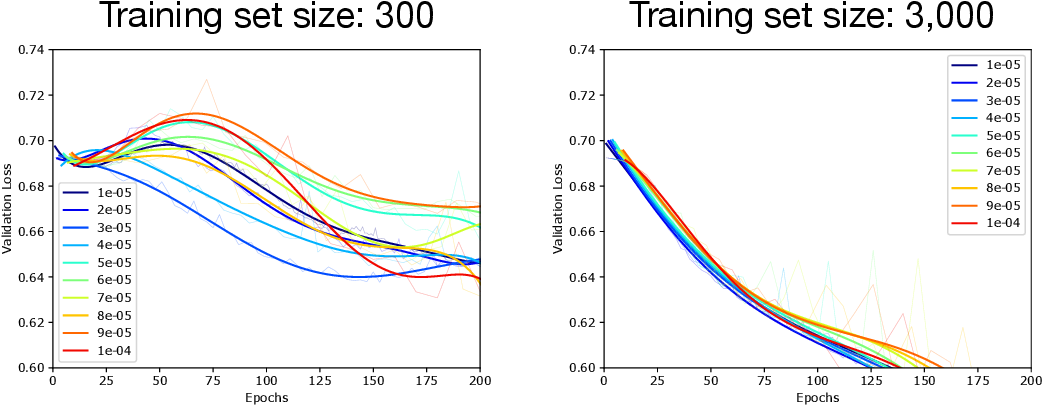 Figure 1 for Double Descent Optimization Pattern and Aliasing: Caveats of Noisy Labels