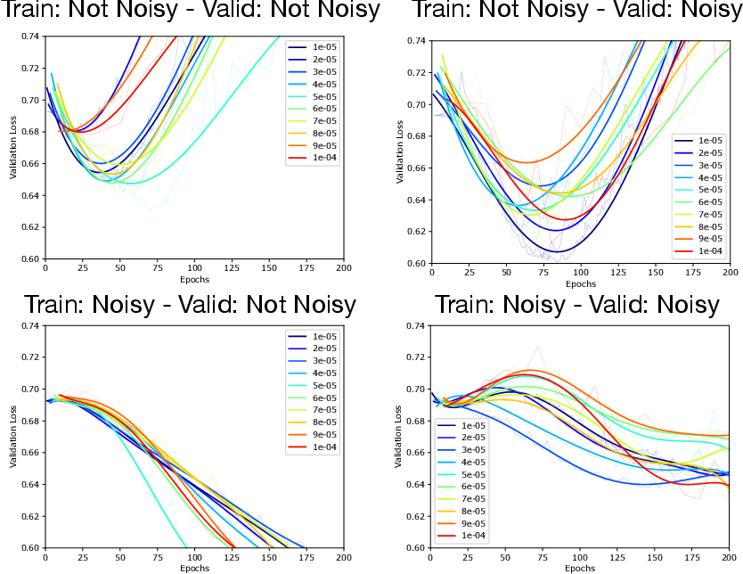 Figure 2 for Double Descent Optimization Pattern and Aliasing: Caveats of Noisy Labels