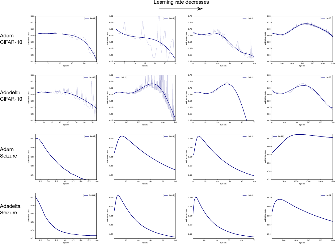 Figure 4 for Double Descent Optimization Pattern and Aliasing: Caveats of Noisy Labels