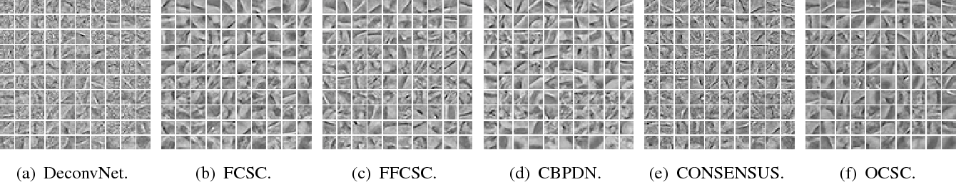 Figure 3 for Scalable Online Convolutional Sparse Coding