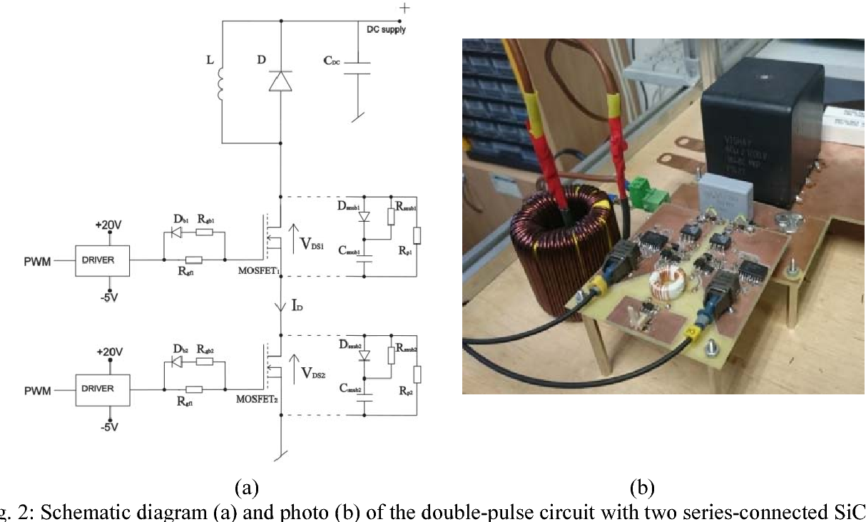 Experimental Study On Fast Switching Series Connected Sic Mosfets Wiring Diagram Figure 2