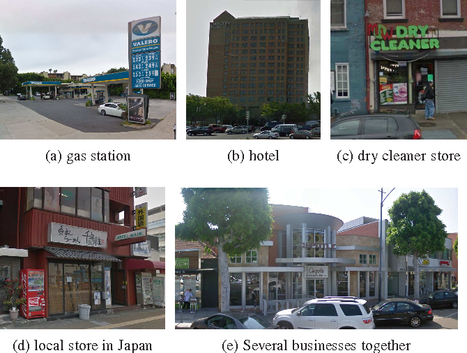 Figure 3 for Large Scale Business Discovery from Street Level Imagery