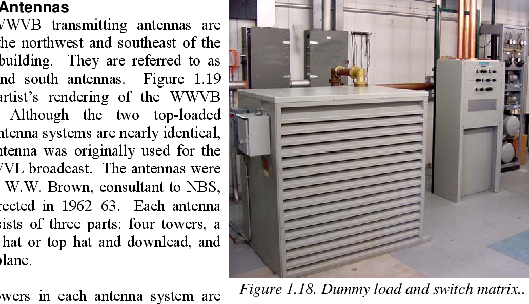 NIST time and frequency radio stations: WWV, WWVH, and WWVB