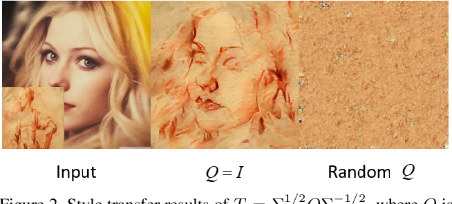 Figure 3 for A Closed-form Solution to Universal Style Transfer